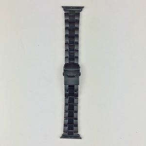 Black stainless steel Apple Watch band 38MM